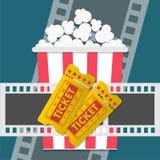 Cinema design. Cinema player, vector icon Royalty Free Stock Images