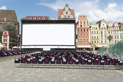 Cinema di New Horizons Fotografia Stock
