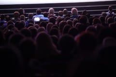 Cinema di sorveglianza della gente fotografie stock