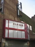 Cinema Disused Foto de Stock