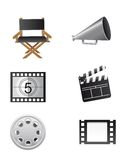 Cinema elements Stock Photos
