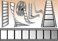 Cinema elements Stock Photography