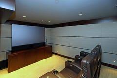 Cinema em casa fotos de stock royalty free