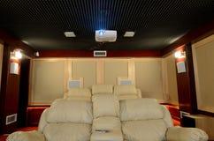 Cinema em casa Imagem de Stock