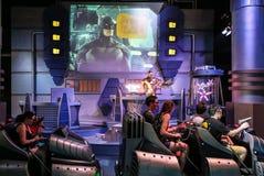 Cinema experience warner bros movie world,gold coast,australia Stock Image