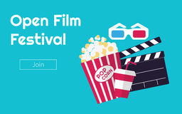 Cinema festival Royalty Free Stock Photo