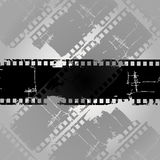 Cinema film. Vector illustration with various strips of cinema Royalty Free Stock Photography