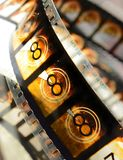Cinema Film Countdown Royalty Free Stock Photo