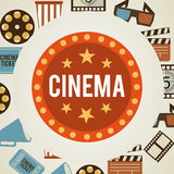 Cinema film Stock Image