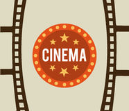 Cinema film Stock Photo