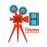 Cinema film design. Vector illustration eps10 graphic Stock Photo