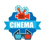 Cinema film design Royalty Free Stock Photography