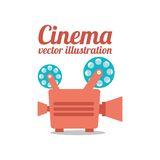 Cinema film design Royalty Free Stock Photo