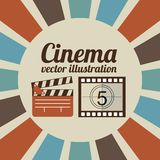 Cinema film design. Vector illustration eps10 graphic Stock Photography