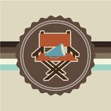 Cinema film design. Vector illustration eps10 graphic Royalty Free Stock Photography