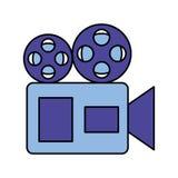 Cinema film movie vector illustration
