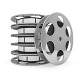 Cinema Film Rolls Stock Photography