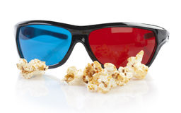 Cinema glasses Royalty Free Stock Photo