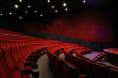 Cinema hall Royalty Free Stock Photo