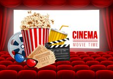 Cinema Hall Royalty Free Stock Images