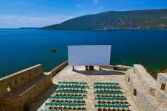 Cinema hall in Herceg Novi Citadel - Montenegro Stock Photos