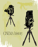 Cinema history Stock Images