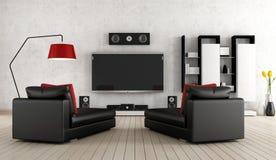 Cinema Home Imagem de Stock