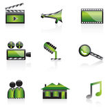 Cinema icon Stock Image