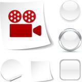 Cinema  icon. Stock Photos