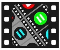 Cinema icon Stock Photos