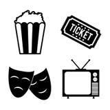 Cinema icon design. Cinema concept with culture icon design, vector illustration 10 eps graphic Stock Photo