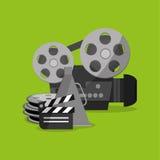 Cinema icon design Royalty Free Stock Photo
