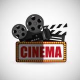 Cinema icon design Stock Images
