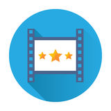 Cinema icon Royalty Free Stock Photo