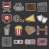 Cinema icon Royalty Free Stock Photography