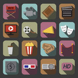 Cinema icon Royalty Free Stock Photography