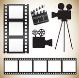 Cinema icons Stock Photo