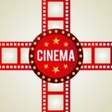 Cinema icons design Stock Photos
