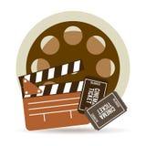Cinema icons design Royalty Free Stock Image