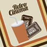 Cinema icons design Stock Photo
