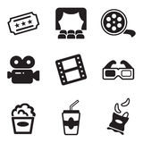 Cinema Icons Stock Images