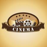 Cinema icons Royalty Free Stock Photo