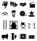 Cinema Icons Stock Photos