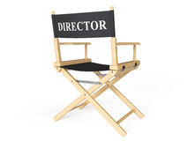 Cinema Industry Concept. Directors Chair Royalty Free Stock Photo