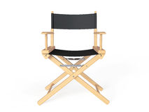 Cinema Industry Concept. Directors Chair Stock Image