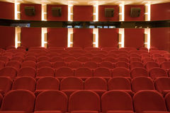 Cinema interior Royalty Free Stock Photos