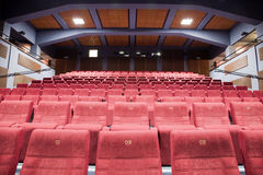 Cinema interior Stock Image