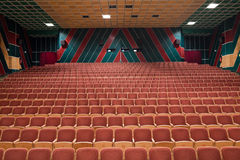 Cinema interior Stock Images