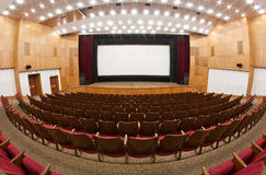Cinema interior Stock Photography