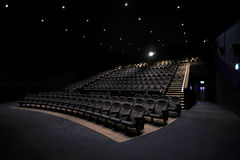 Cinema Interior Royalty Free Stock Image